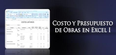 costo y presupuesto de obra en excel